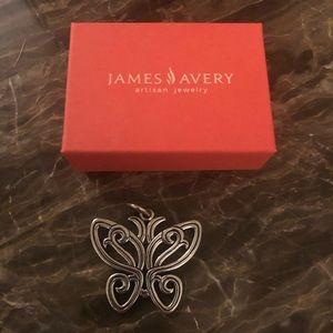 James Avery Retired Butterfly Pendant
